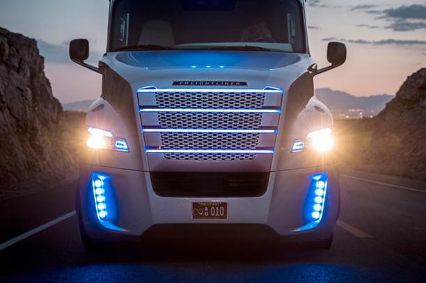 Inspiration Truck : le premier camion semi-autonome autorisé à rouler dans le Nevada