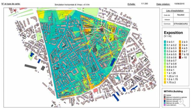 Ondes électromagnétiques : Strasbourg cartographie ses antennes-relais