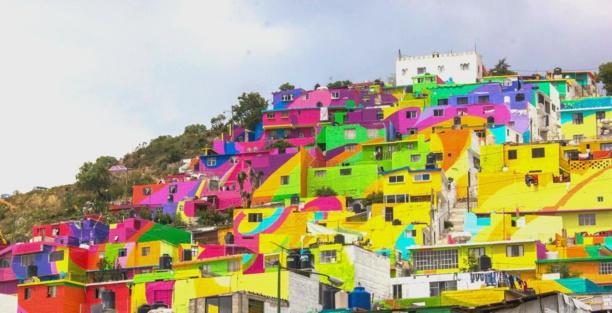 Au Mexique, du street-art contre la délinquance