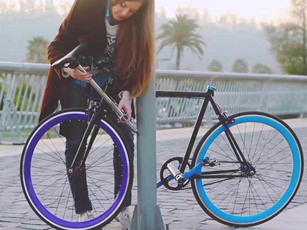 Yerka, le vélo impossible à voler entre en production