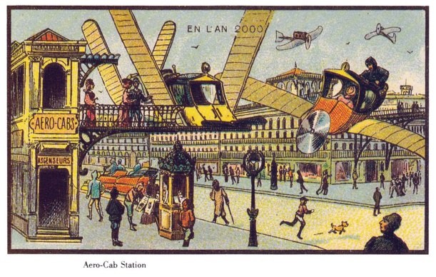 Comment voyait-on l'an 2000 en 1900 ? La réponse en 11 dessins étonnants