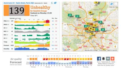 Votre ville est-elle polluée ? Cette carte interactive va vous le révéler
