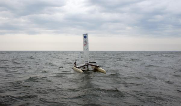 Le Datamaran, un drone aquatique contre le réchauffement climatique