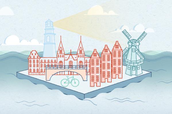 Comment Amsterdam a réduit ses embouteillages de 20 % grâce au coworking