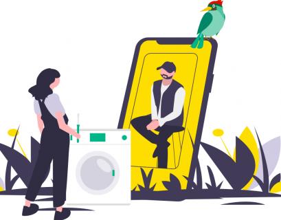 Faites un geste écologique et économique en réparant vous-même votre électroménager grâce à ces services qui proposent l'aide de professionnels en visioconférence. (Crédit : PIVR)