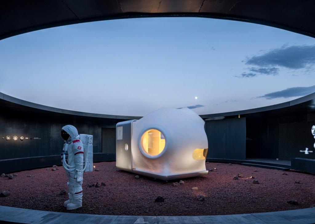 tiny house Mars