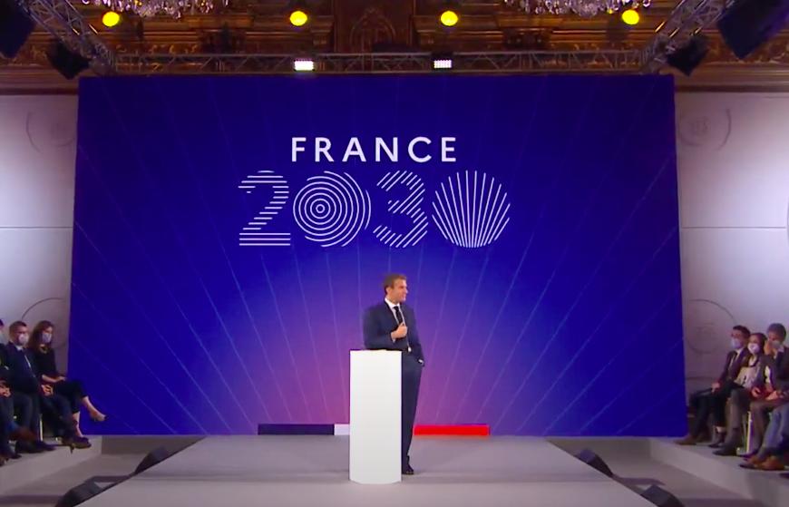Emmanuel Macron France 2030