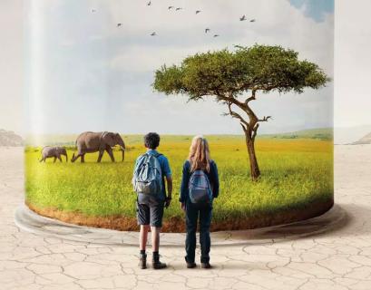 """Partie de l'affiche du film """"Animal"""" de Cyril Dion"""