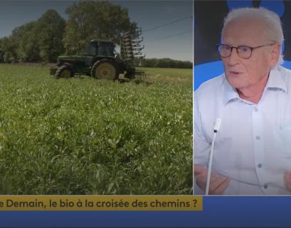 François Siegel évoque l avenir du bio sur le plateau de FranceInfo.