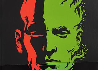 """""""Green Man"""", de David Gloss."""