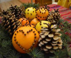 Tuto : une déco de Noël à base d'agrumes