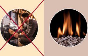 Quiz carbone : poêle à bûches ou à granulés?