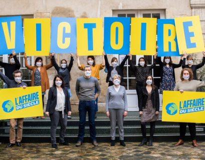 L'Affaire du sicèle a été initiée par Oxfam, Greenpeace France, le collectif Notre affaire à tous, et la Fondation Nicolas Hulot.