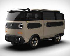 Van, minibus, fourgonnette… Ce véhicule électrique est modulable à volonté