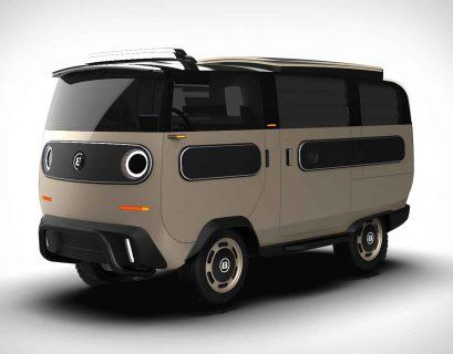 eBussy, véhicule électrique modulable