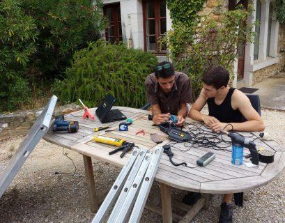 Fabrication de panneaux solaires