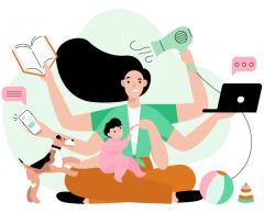 Travail domestique : les femmes présentent la facture