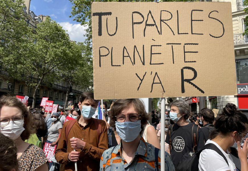 Défilé de la Marche Climat 2021