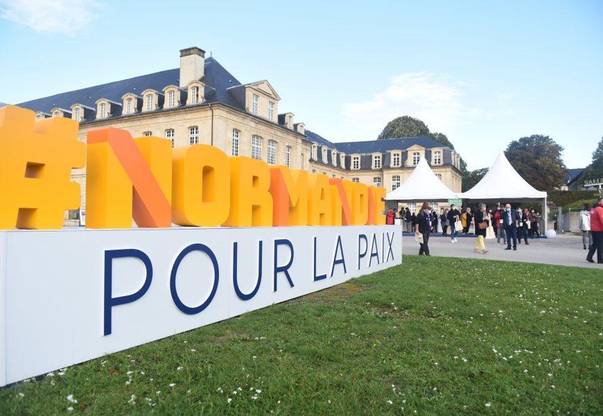 Quelque 3000 lycéens et étudiants sont attendus au Forum Normandie pour la Paix.