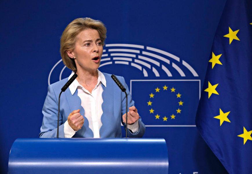 La présidente de la Commission européenne Ursula Von Der Leyen a présenté son plan climat.