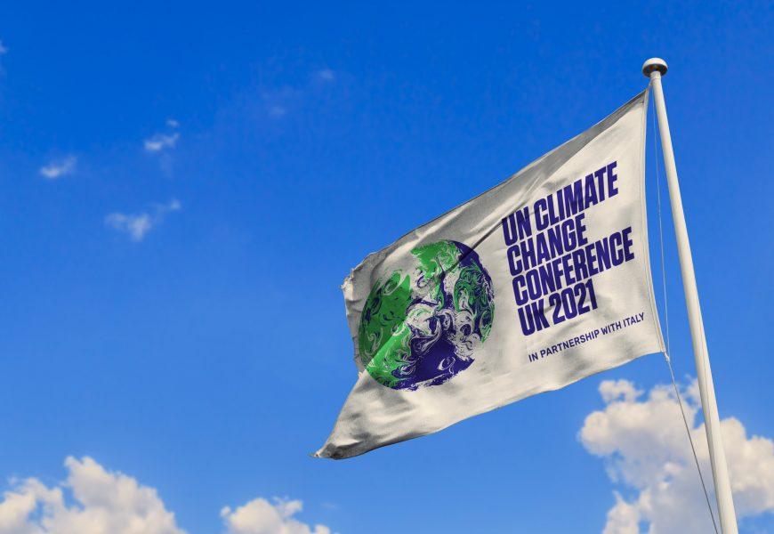 drapeau COP26