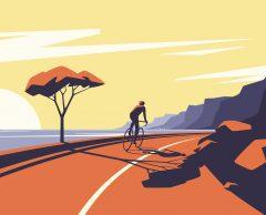 Slow voyage : 4 escapades à vélo en France