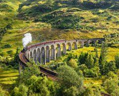 Comment rejoindre Glasgow en train