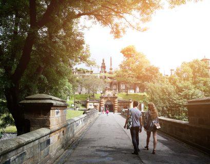 La Nécropole de Glasgow offre l'occasion d'une très jolie balade au vert.