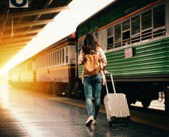 Voyage en train : moins polluant et plus rapide