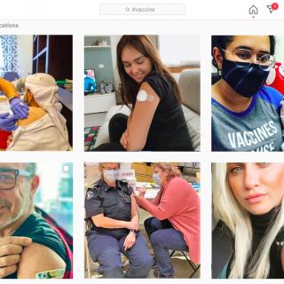 """Vaccin anti-Covid : les """"vaxxies"""" nouvelle tendance sur le web"""