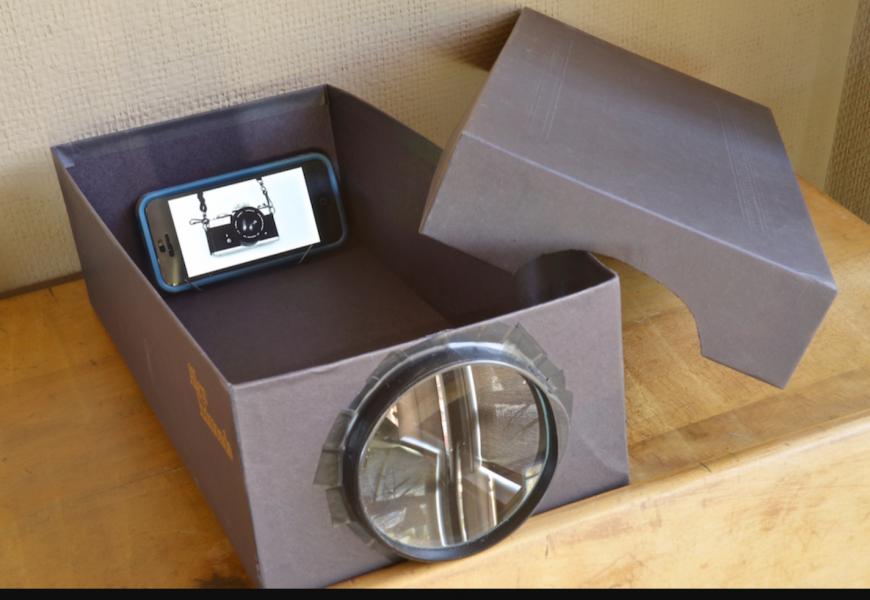 Fabriquer un vidéoprojecteur maison